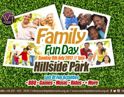 Family Fun Day In The Park