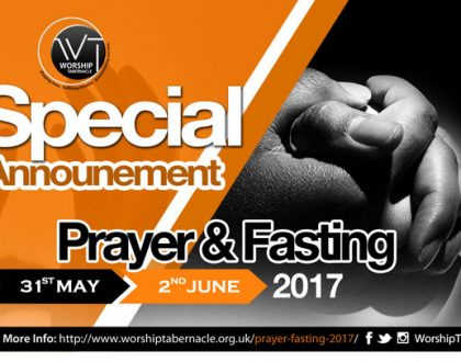 Prayer & Fasting Evening Service