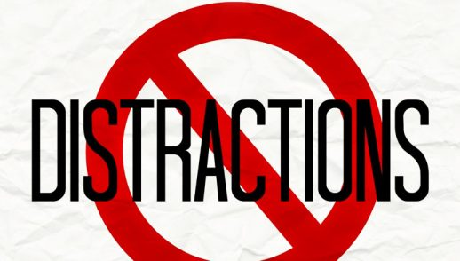 Shutting Out Distraction