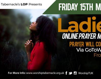 Ladies Prayer Meeting 2019