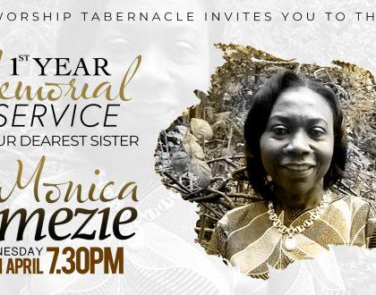Memorial Service: Sister Monica Omezie