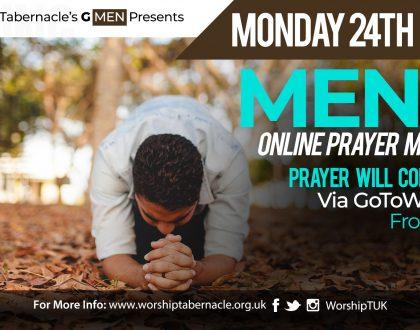 Men's Monday Prayer Meeting