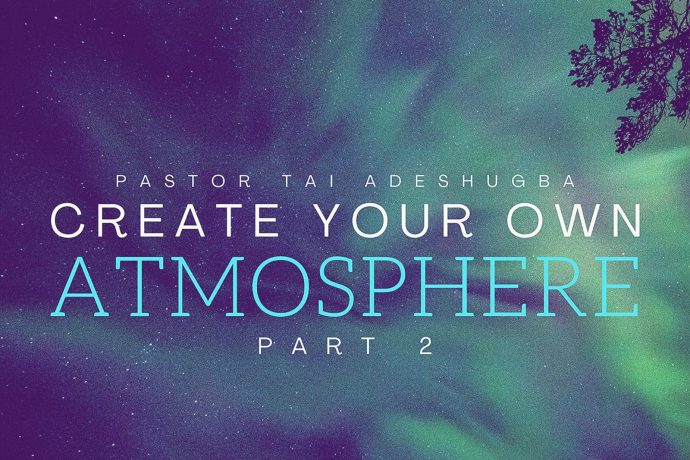 Create Your Own Atmosphere (Part 2)