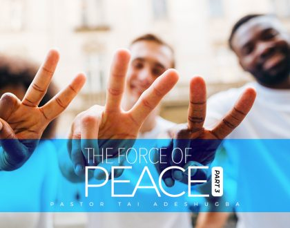 The Force of Peace (Part 3)