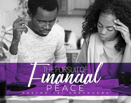 The Pursuit of Financial Peace